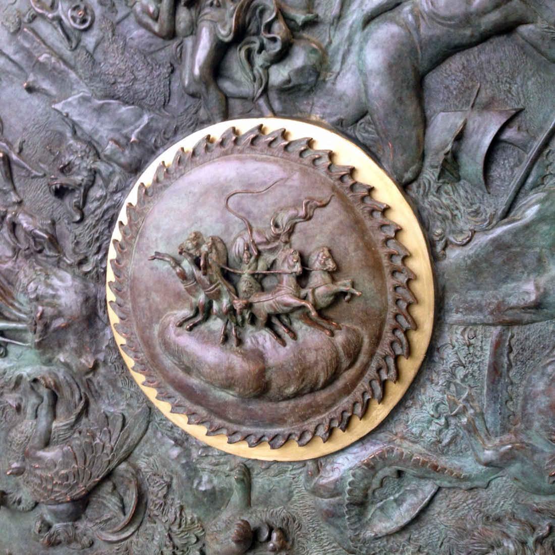 Carro del Sole - Lo Scudo di Achille Alessandro Romano