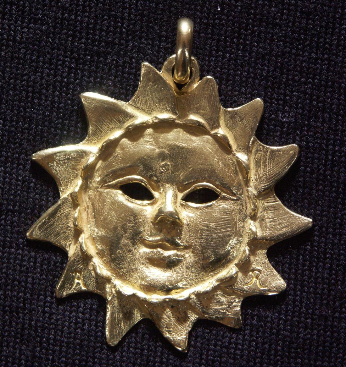 Gioielli in una sola raccolta - Grande Sole Oro
