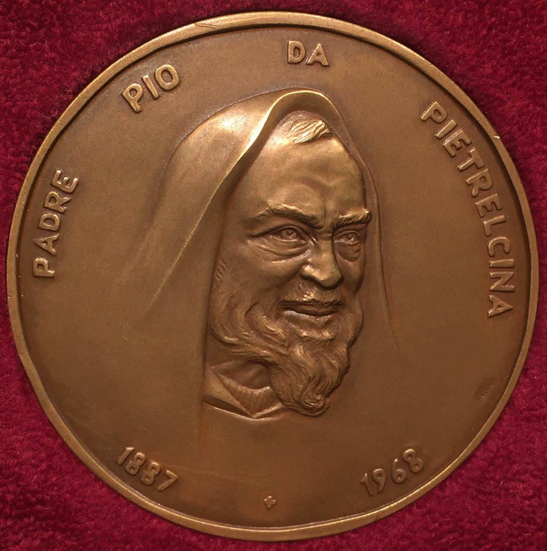 SAN PIO DA PIETRELCINA medaglia