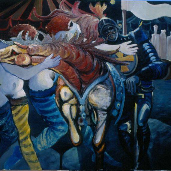 Pittura Storica - Tentazioni di un crociato