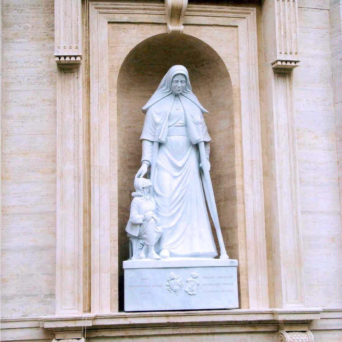 benedizione di santa genoveffa da SS. padre Benedetto XVI