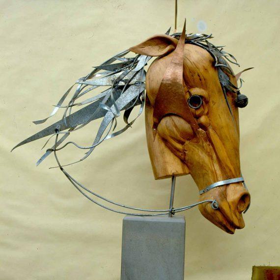 Scultura Storica - Testa di cavallo