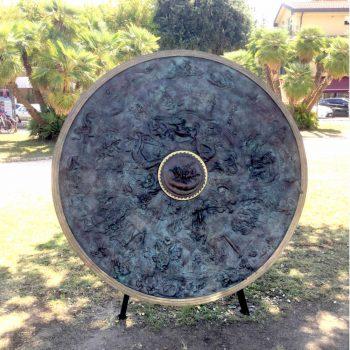 Lo scudo di achille a Marina di Pietrasanta