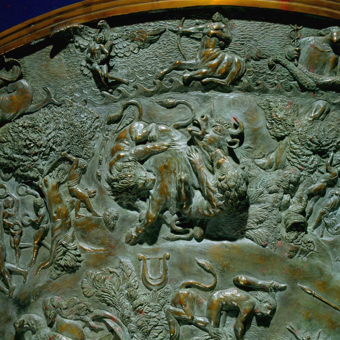 Allegoria della morte - Lo Scudo di Achille Alessandro Romano